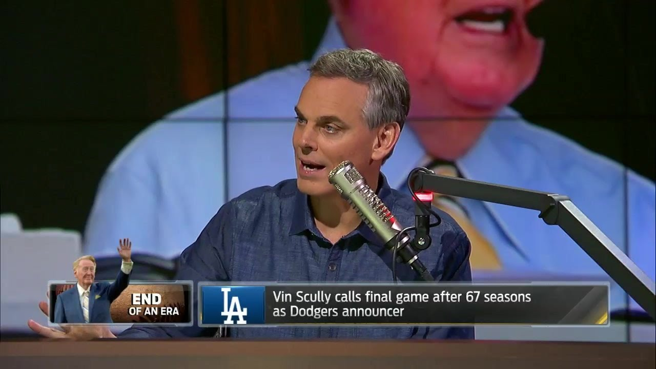 Colin Cowherd speaks on the incredible career of Vin Scully