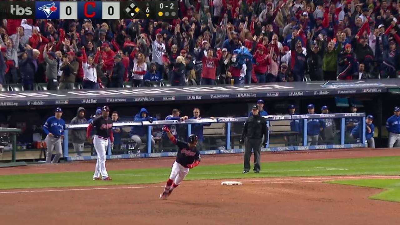 Francisco Lindor belts 2-Run game winning homer for Indians