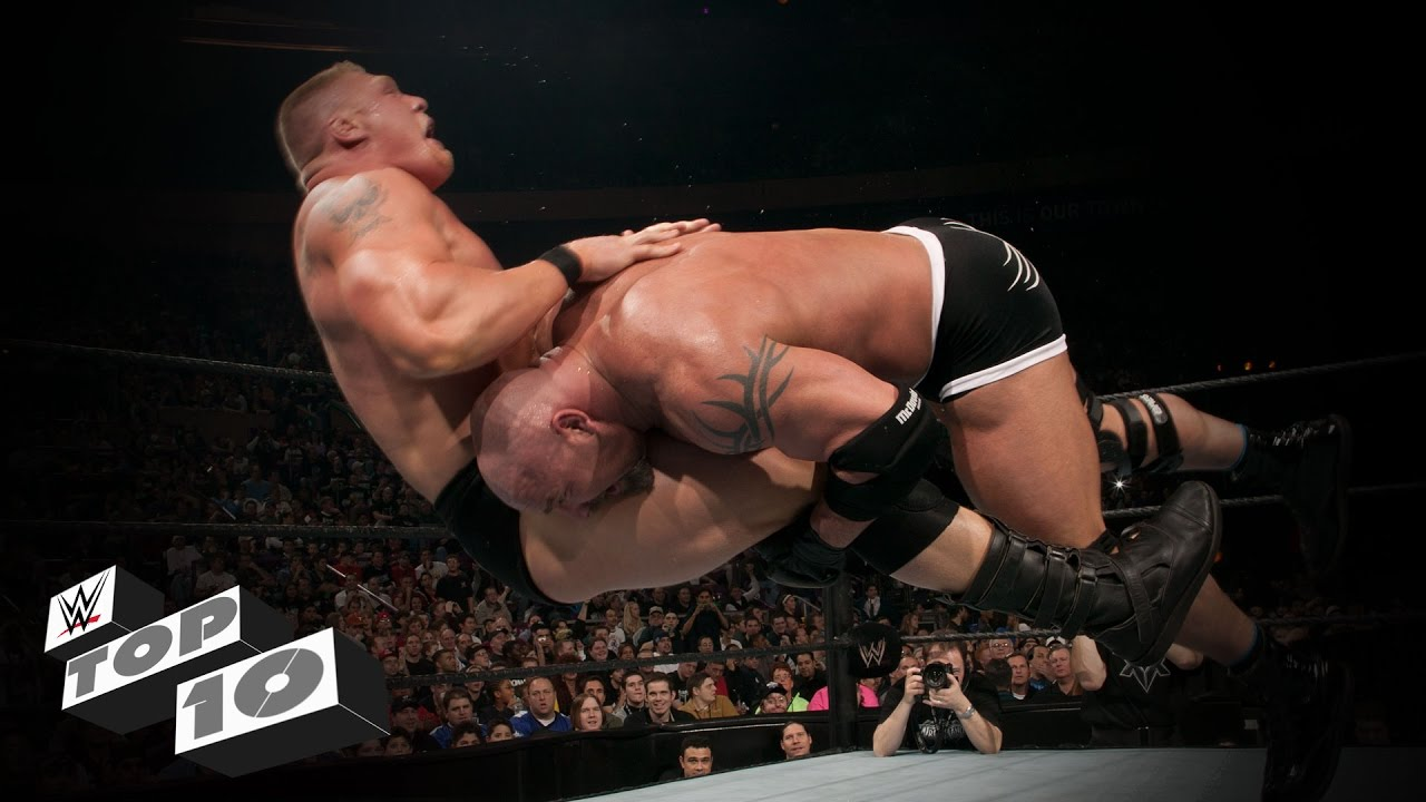 Goldberg's Top 10 Spears in the WWE