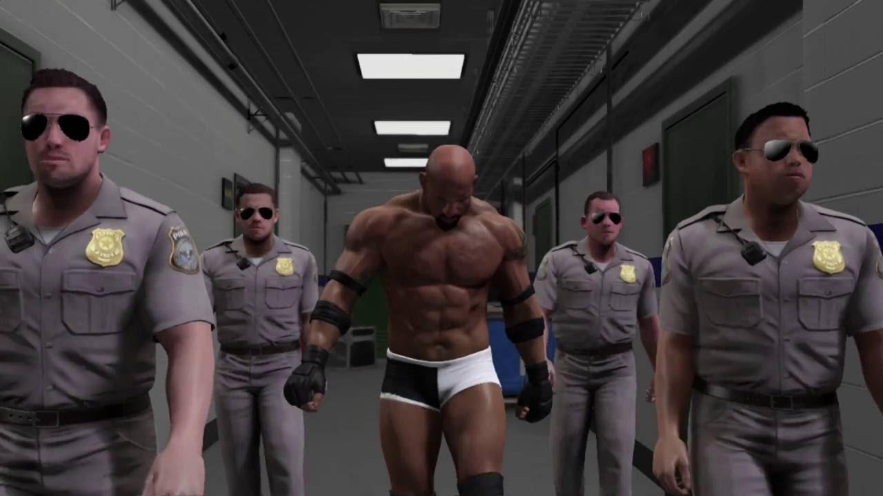 Goldberg's WWE 2K17 entrance