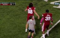 Indiana upsets Michigan State 24-21 in Overtime