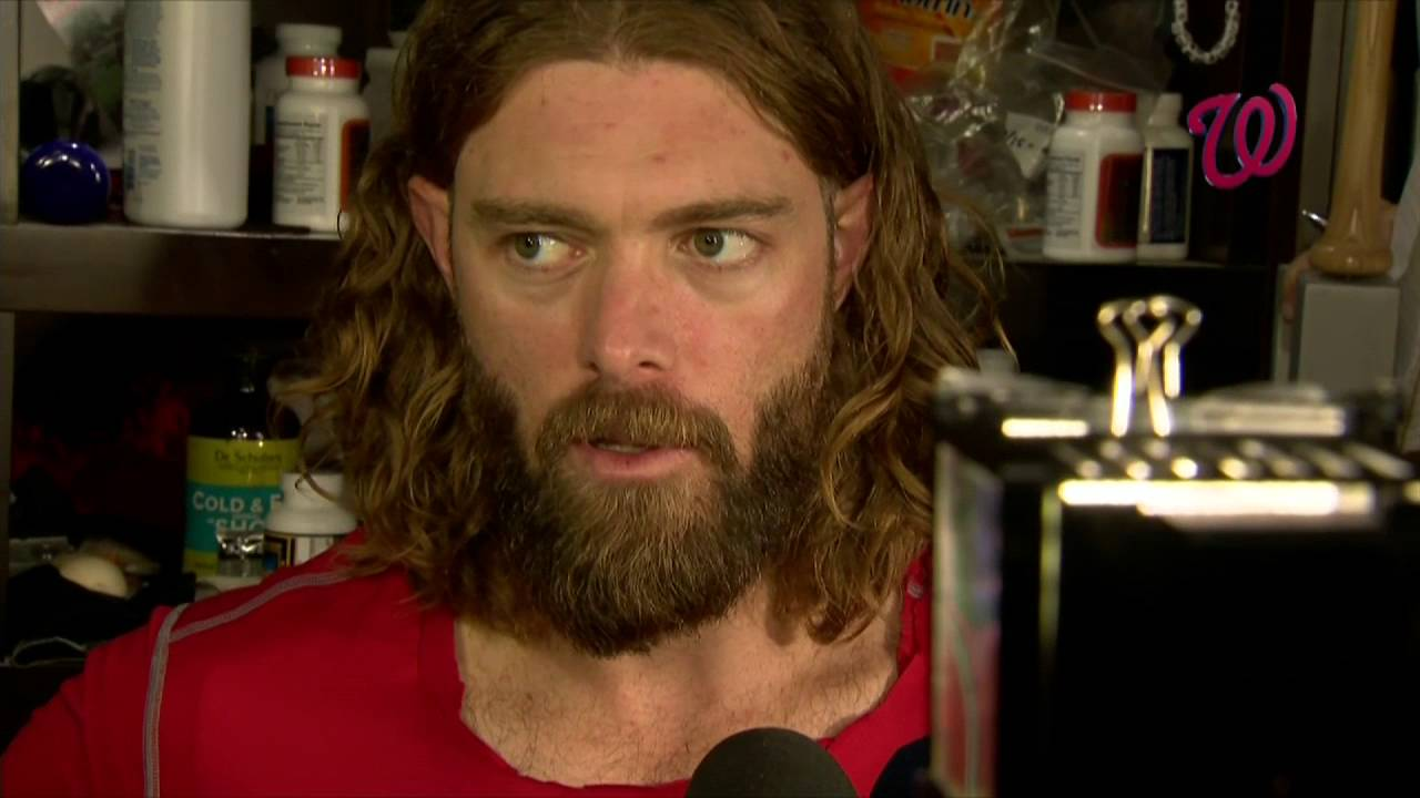 Jayson Werth speaks on the Nationals' 4-3 loss to Dodgers