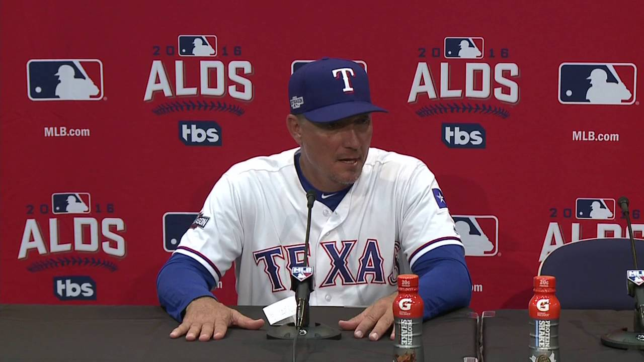 Jeff Banister says you have to credit the Blue Jays for their approach