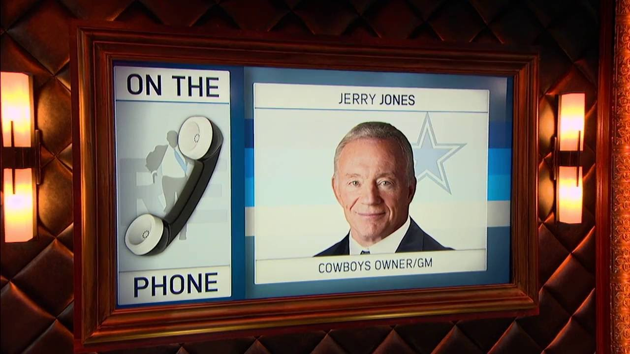 Jerry Jones explains why Tony Romo will start when he is healthy