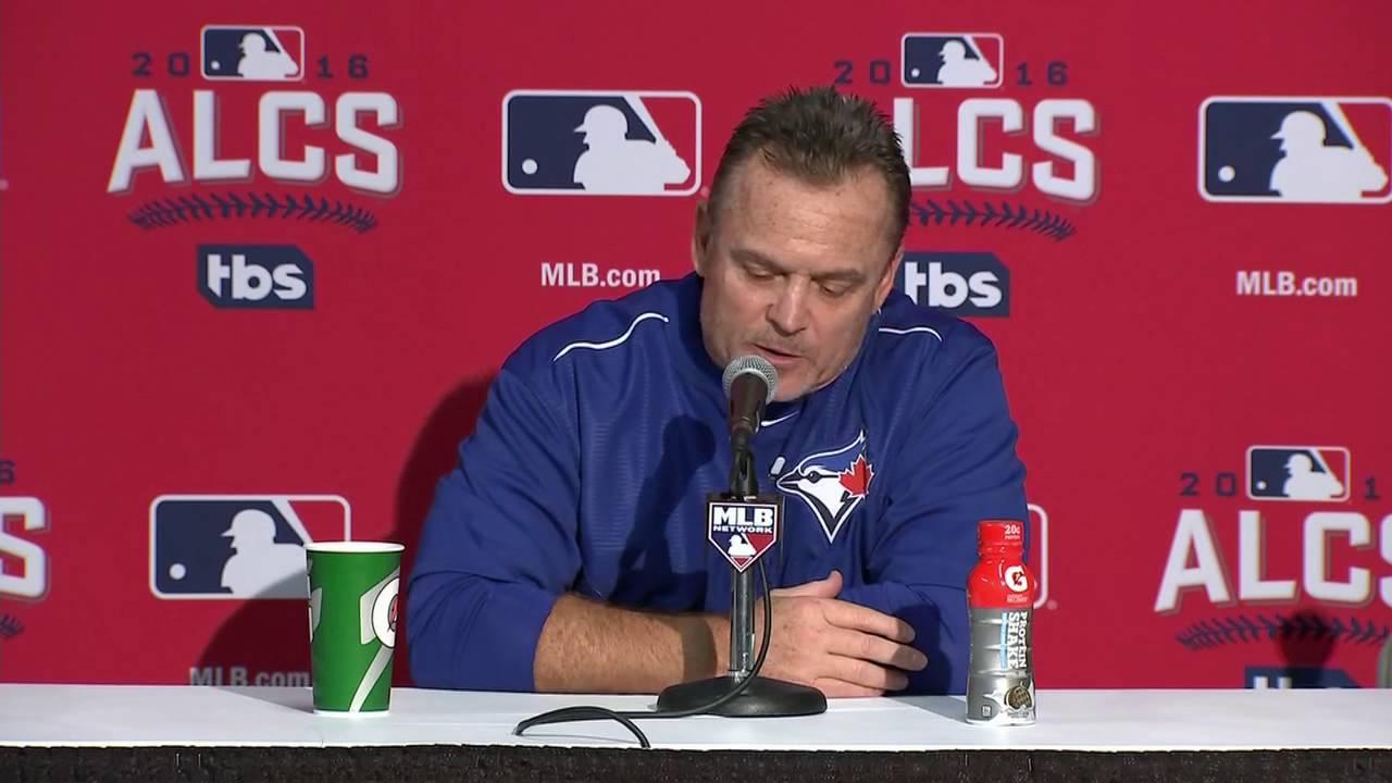 John Gibbons speaks on the Blue Jays Game 3 loss