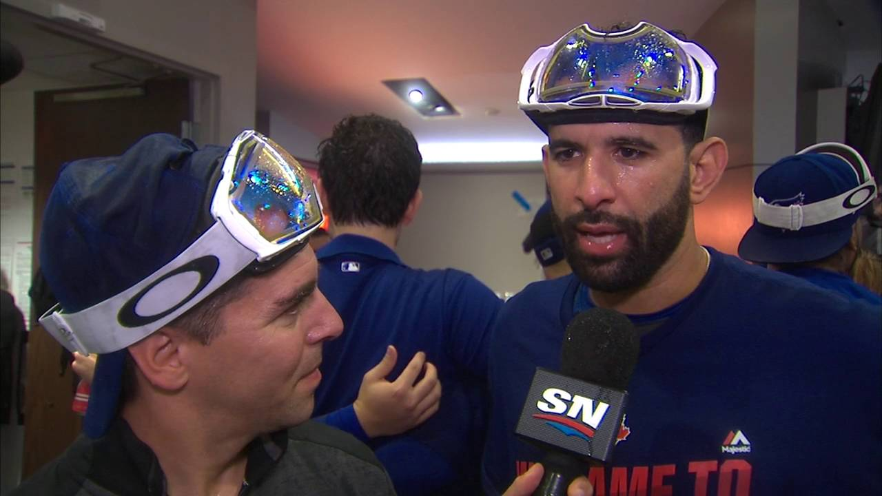 Jose Bautista hopes emotions are kept in check during Texas series