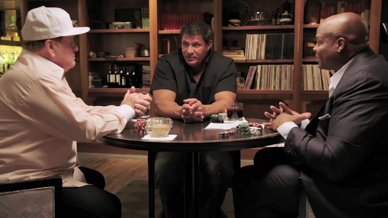 Jose Canseco talk PED's & the Hall of Fame with Pete Rose & Frank Thomas