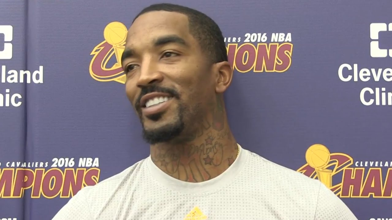 JR Smith speaks on re-signing with the Cleveland Cavaliers