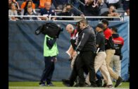 """Man in """"All Lives Matter"""" Gorilla suit runs on the field at Bears game"""
