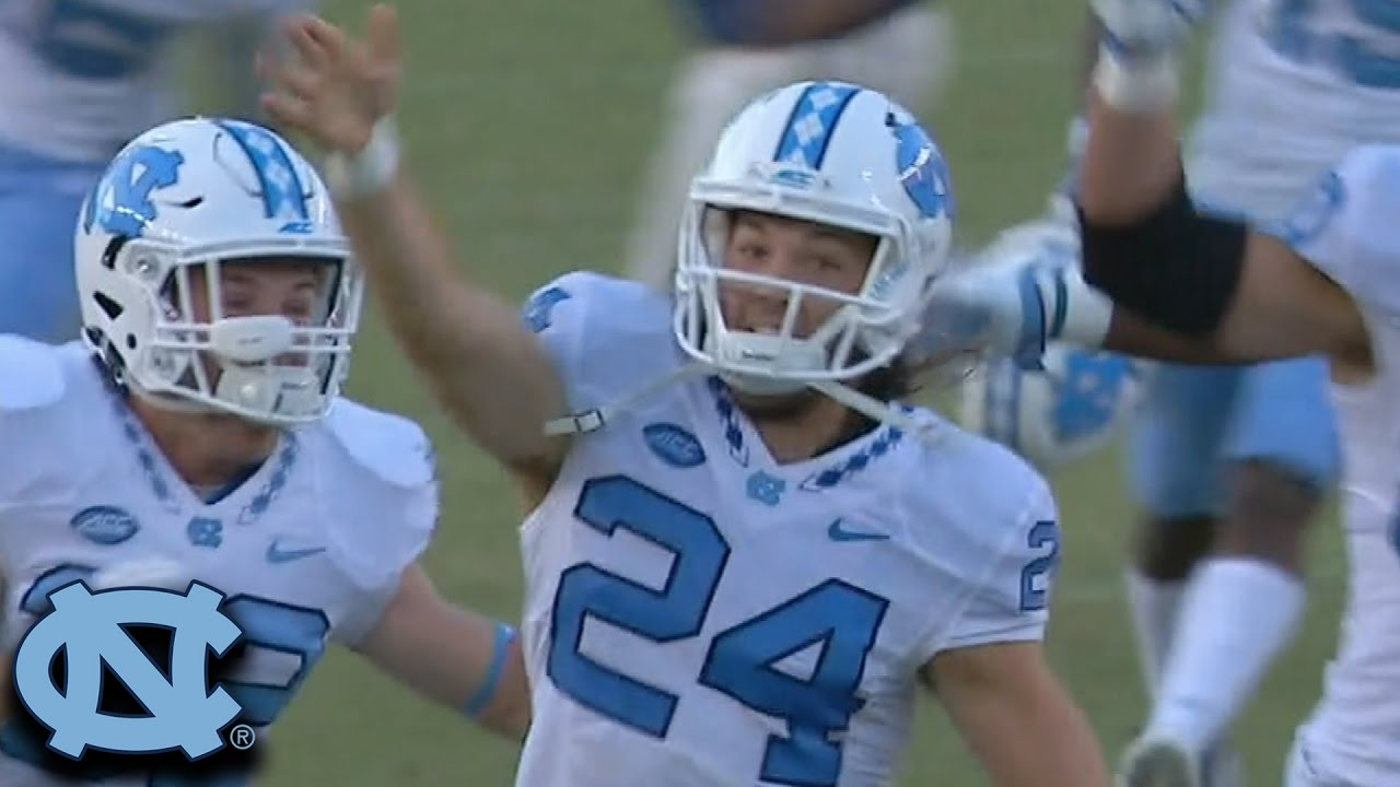 North Carolina stuns Florida State with 54 yard field goal to win