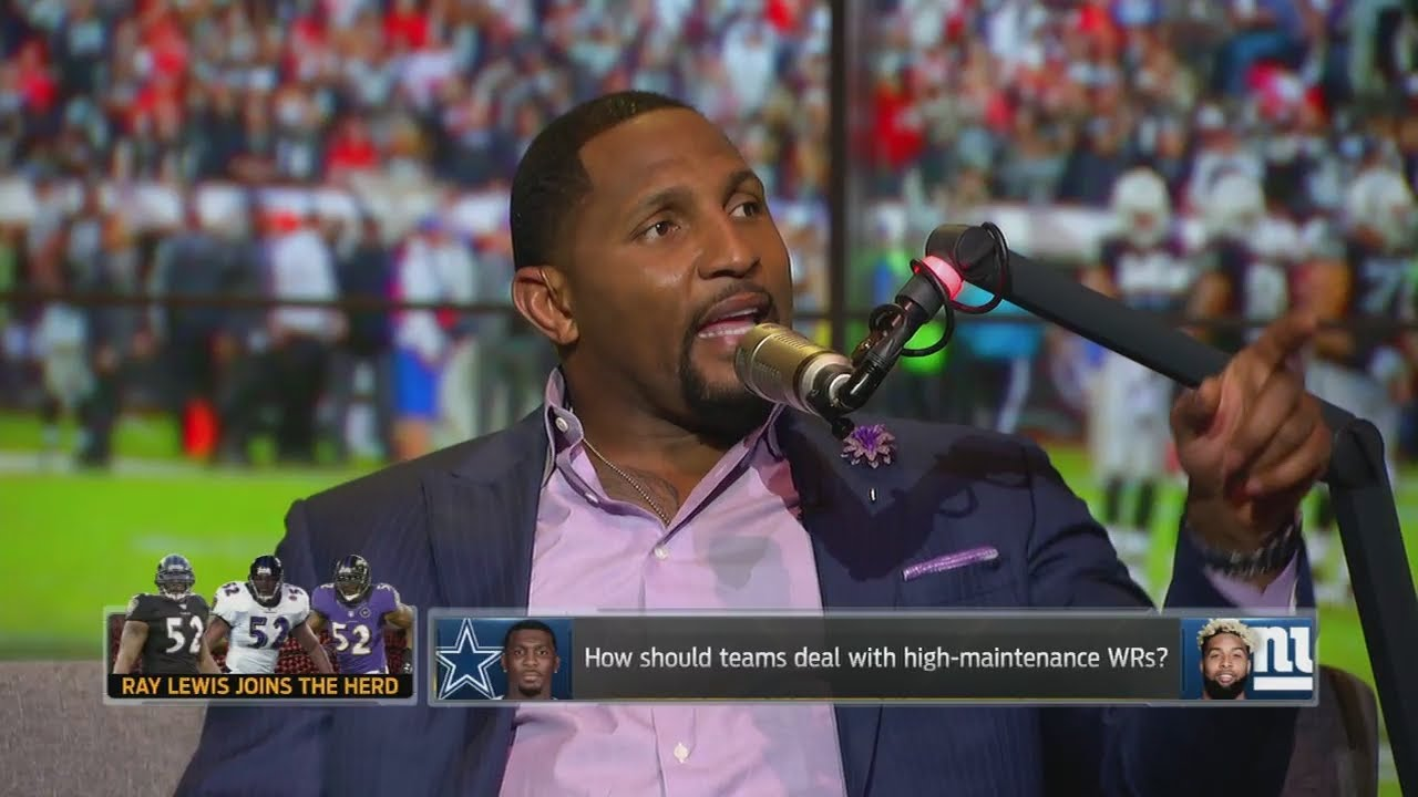 Ray Lewis has a message for