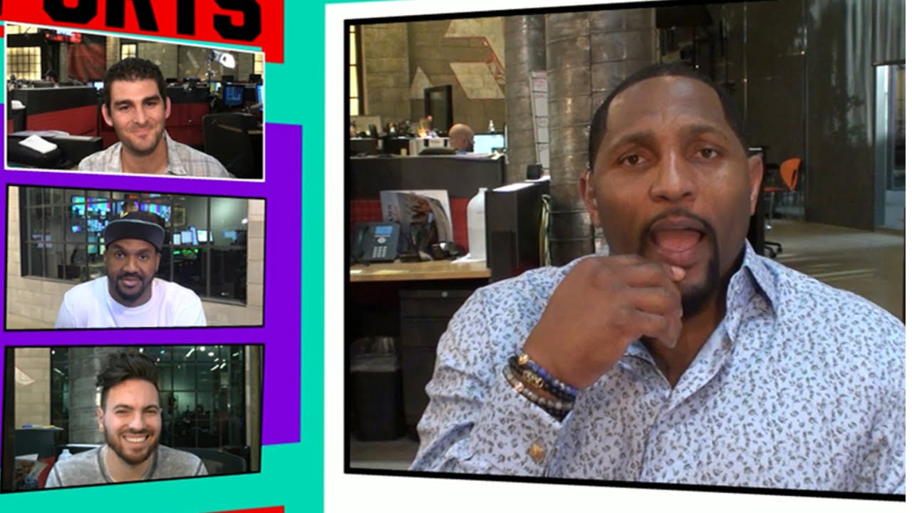 Ray Lewis & The Rock both knew they would be famous at Miami