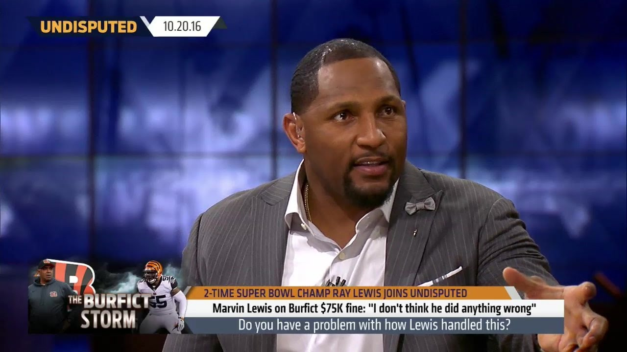 Ray Lewis thinks Vontaze Burfict might get kicked out of the NFL