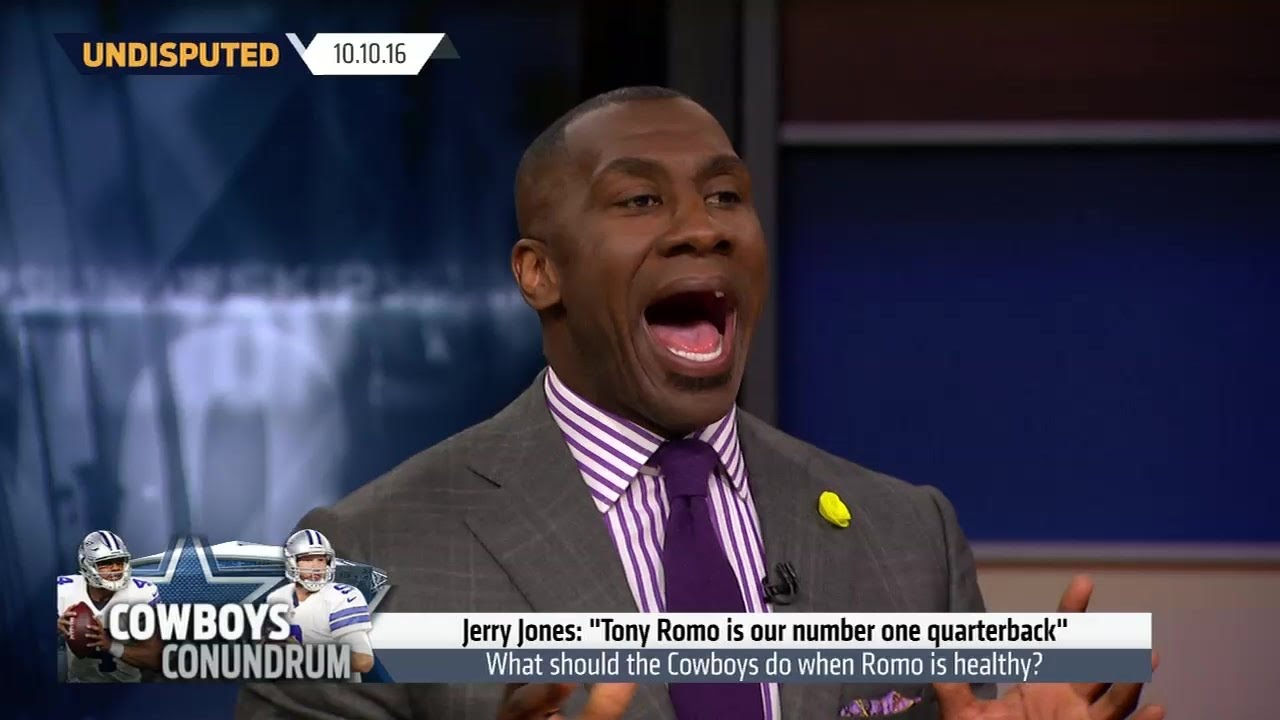 Skip Bayless & Shannon Sharpe talk about the future of Tony Romo in Dallas
