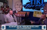 Tiki Barber says Dez Bryant is not an elite Wide Receiver