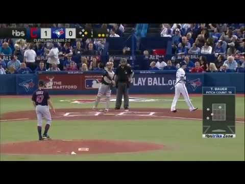 Trevor Bauer leaves start after leaking blood from his pitching hand