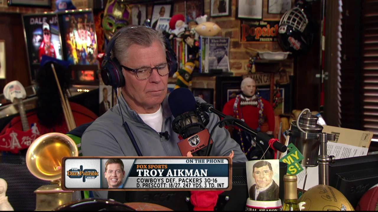 Troy Aikman says Dak Prescott has earned the starting QB job