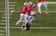 Utah's Marcus Williams catches an insane tipped interception