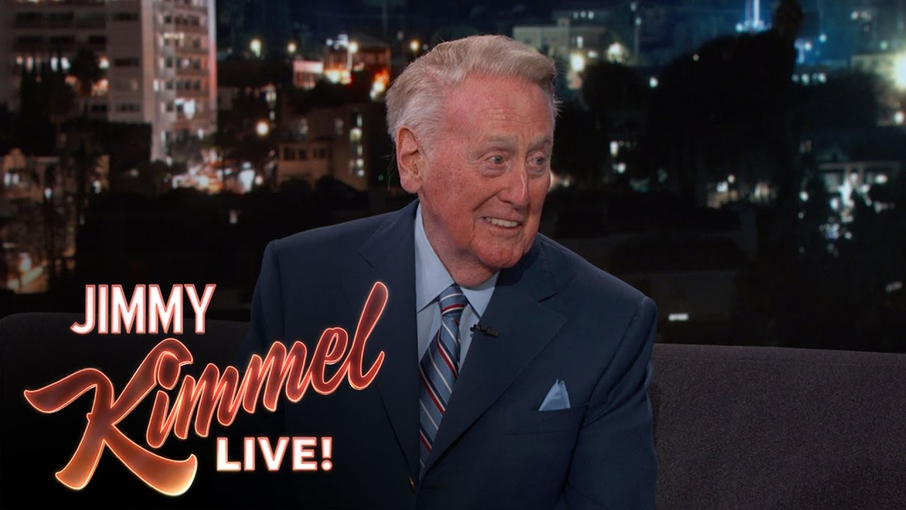 Vin Scully speaks on his retirement with Jimmy Kimmel