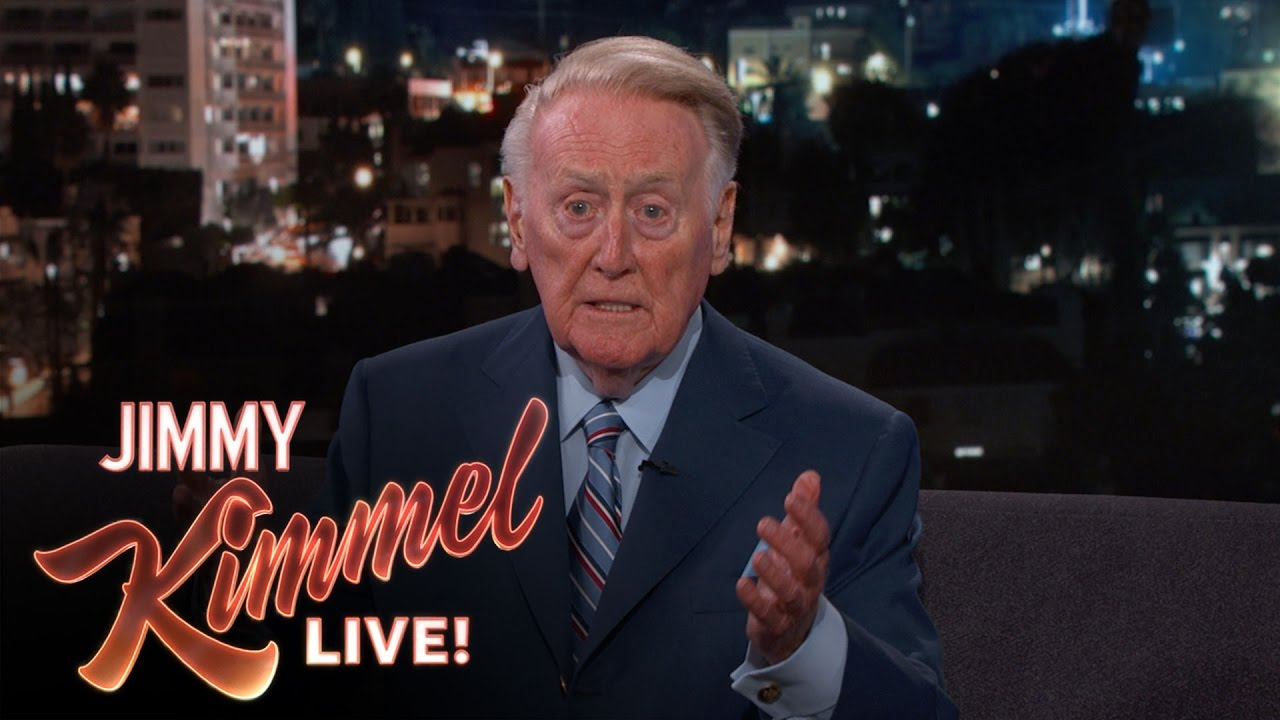 Vin Scully tells the secret to his broadcasting success