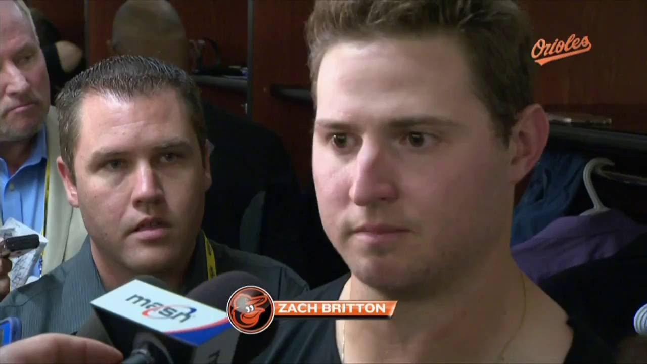 Zach Britton speaks on not pitching in the AL Wild Card game