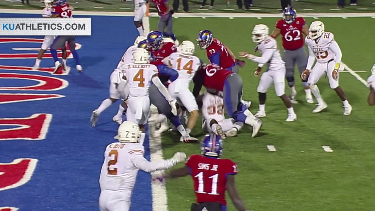 1 win Kansas Jayhawks stun the Texas Longhorns 24-21 in overtime