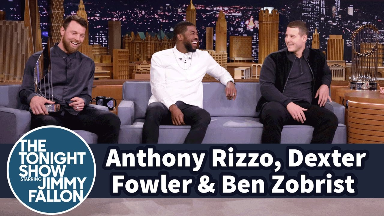 Anthony Rizzo, Dexter Fowler & Ben Zobrist discuss their World Series superstitions