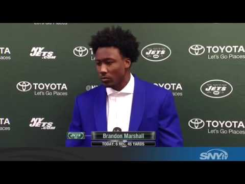 Brandon Marshall says himself & Ryan Fitzpatrick are to blame for Jets woes