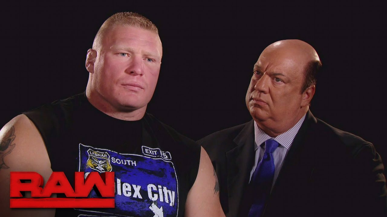 Brock Lesnar explains what he'll do to Goldberg at Survivor Series