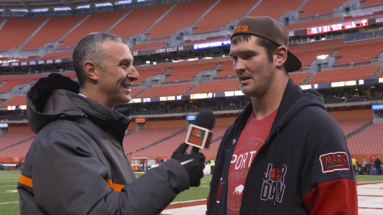 Browns TE Gary Barnidge speaks on the Browns loss to the Pittsburgh Steelers
