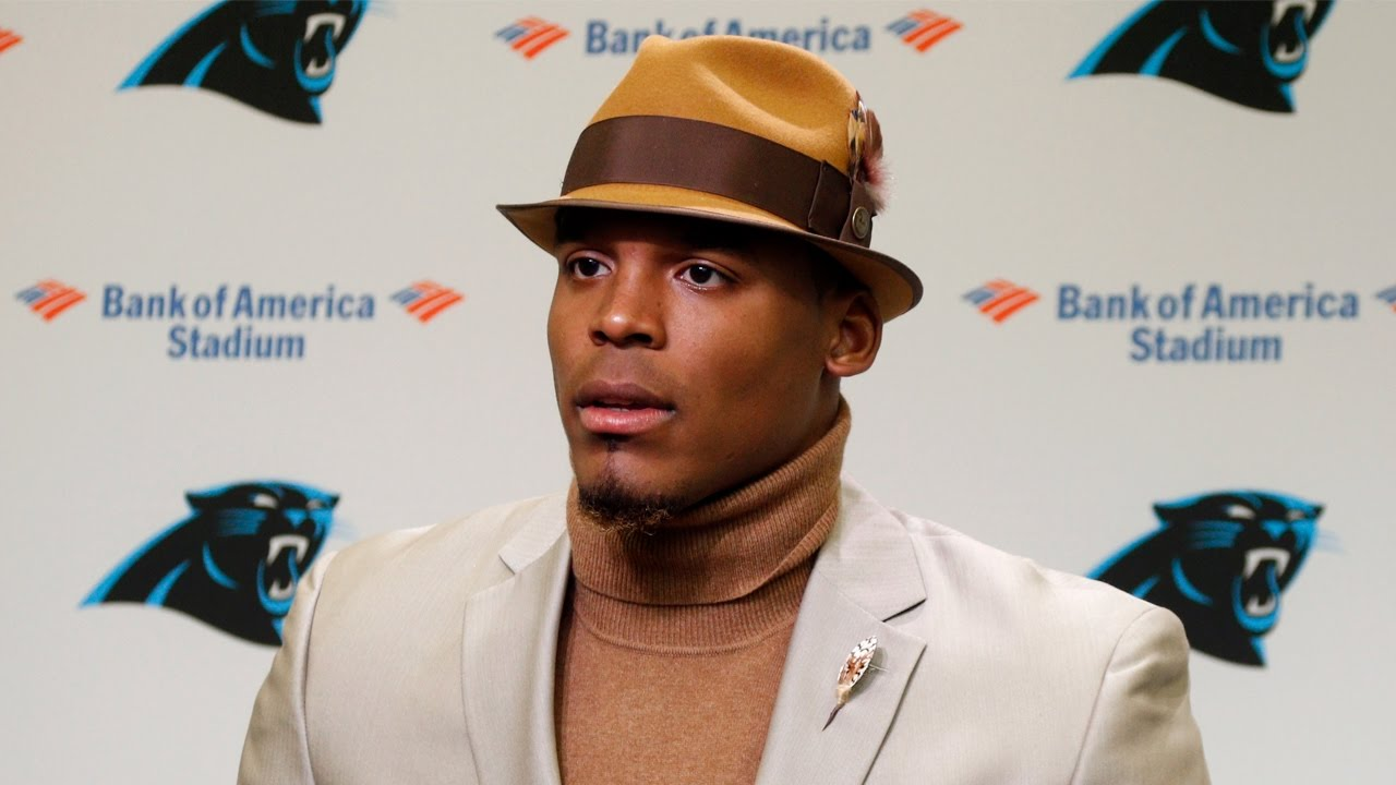 Cam Newton speaks on the Panthers loss to the Chiefs