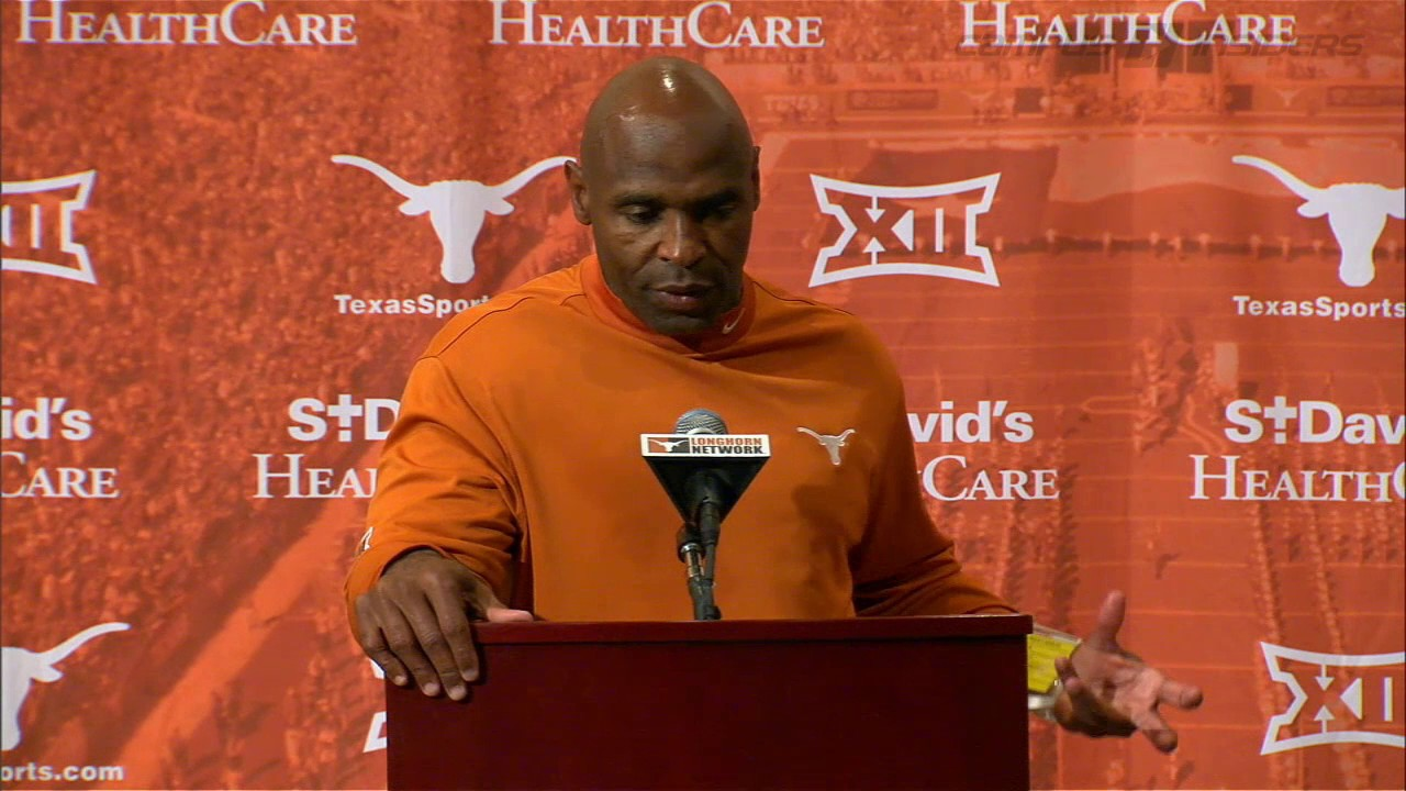 Charlie Strong addresses his possible final game with the Texas Longhorns