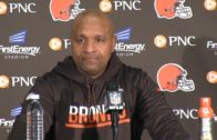 """Cleveland Browns head coach Hue Jackson says he's tired of getting his """"butt kicked"""""""