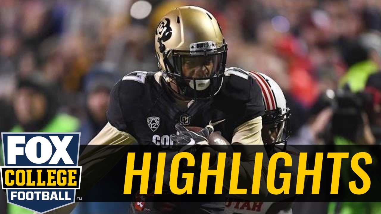 Colorado Buffaloes are headed to Pac 12 Championship game after win over Utah