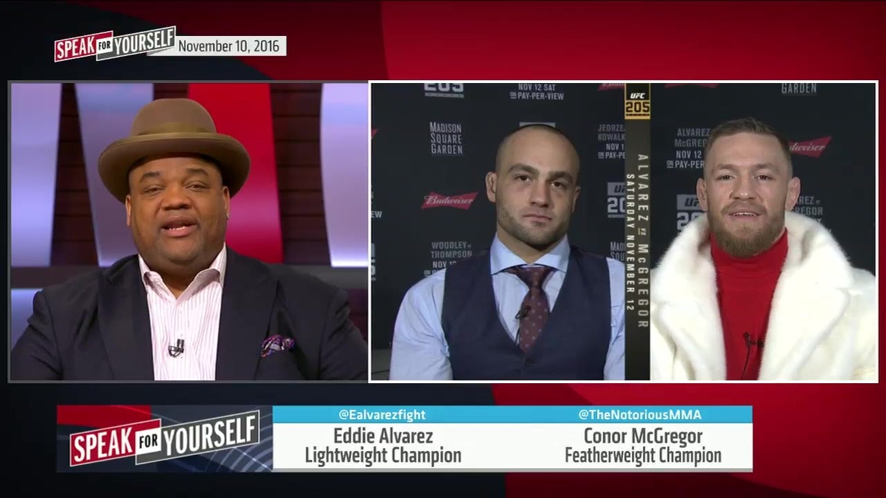 Conor McGregor & Eddie Alvarez preview UFC 205 with Jason Whitlock