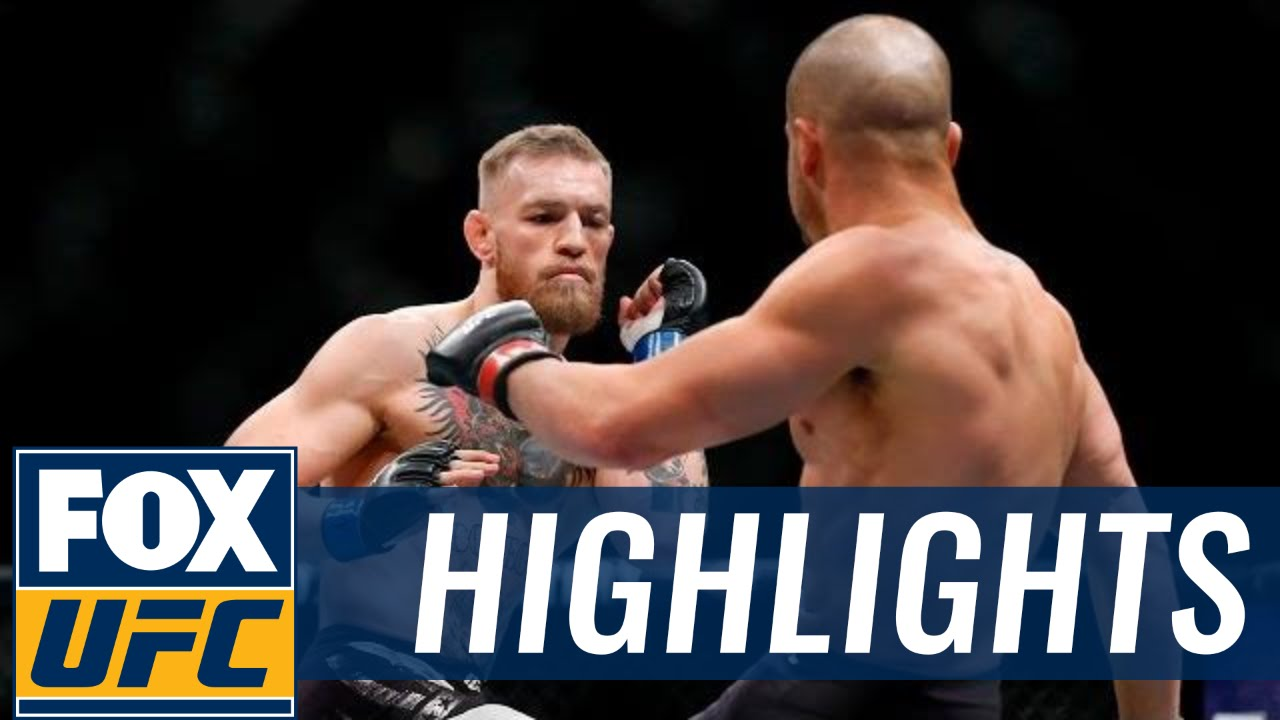 Conor McGregor vs. Eddie Alvarez UFC 205 fight highlights