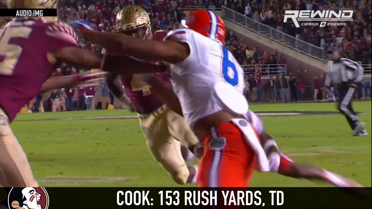 Dalvin Cook sets Florida State touchdown record in win over Florida