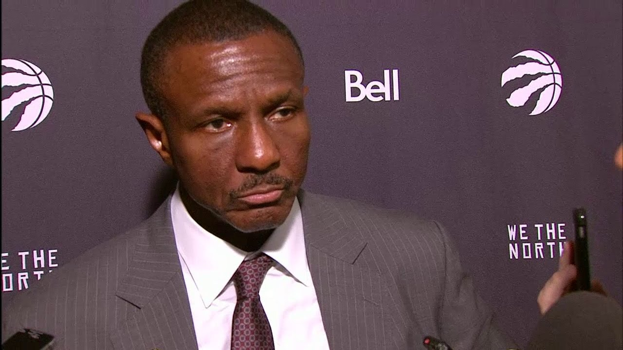Dwane Casey speaks on the Raptors game tying 3-pointer waved off