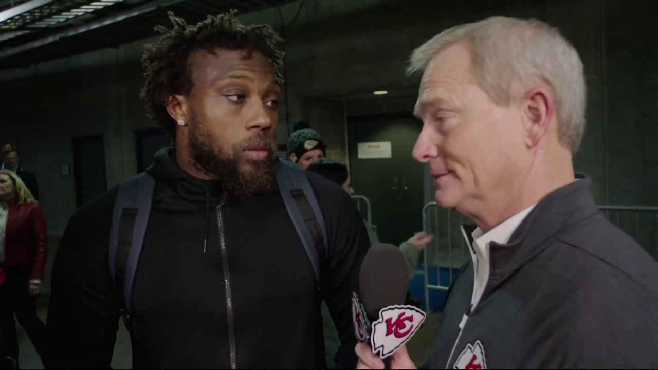 Eric Berry speaks on his 42 yard interception for a touchdown vs. Carolina