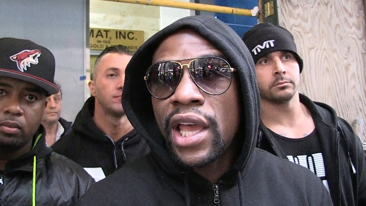 Floyd Mayweather calls Conor McGregor an 'ant' to his 'elephant'