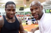 Floyd Mayweather speaks on helping Adrien Broner during his suicidal thoughts
