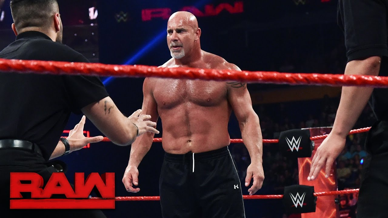 Goldberg & Brock Lesnar meet face to face before Survivor Series