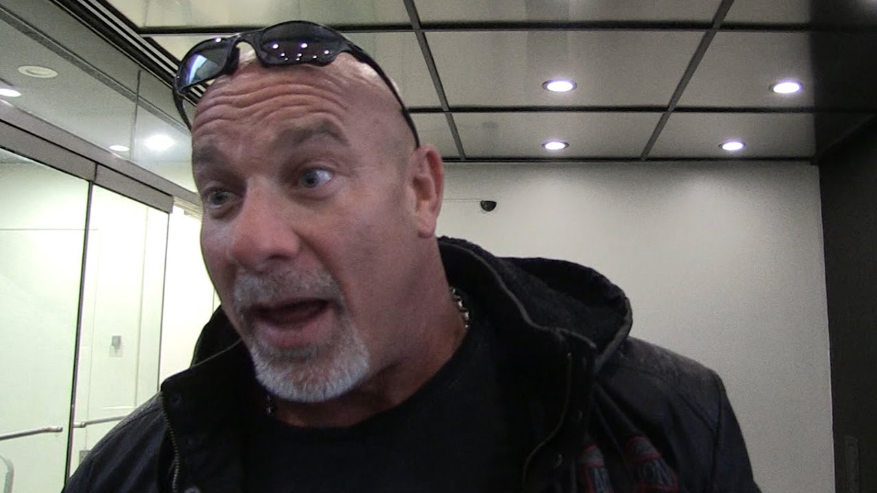 Goldberg dares Brock Lesnar to throw elbows at Survivor Series