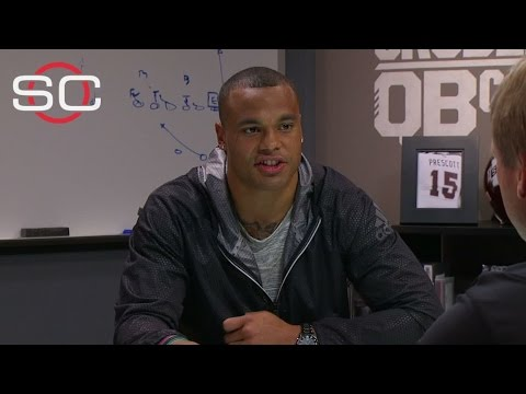 Gruden's QB camp with Cowboys QB Dak Prescott