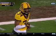 Innocent bystander gets smoked on the sidelines at Minnesota vs. Northwestern