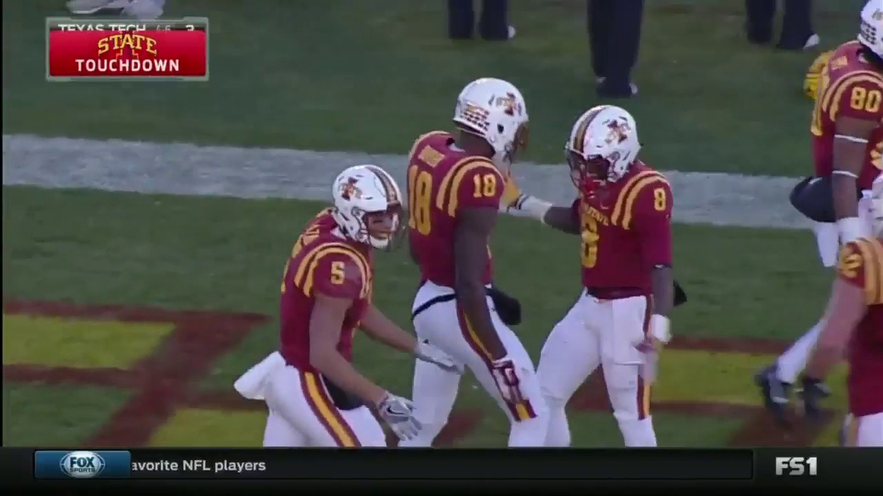 Iowa State demolishes Texas Tech 66-10