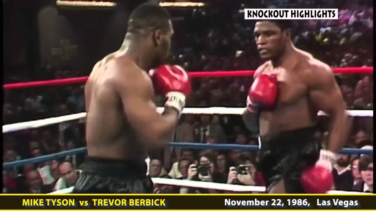 Iron Mike Mondays: Mike Tyson vs. Trevor Berbick in 1986