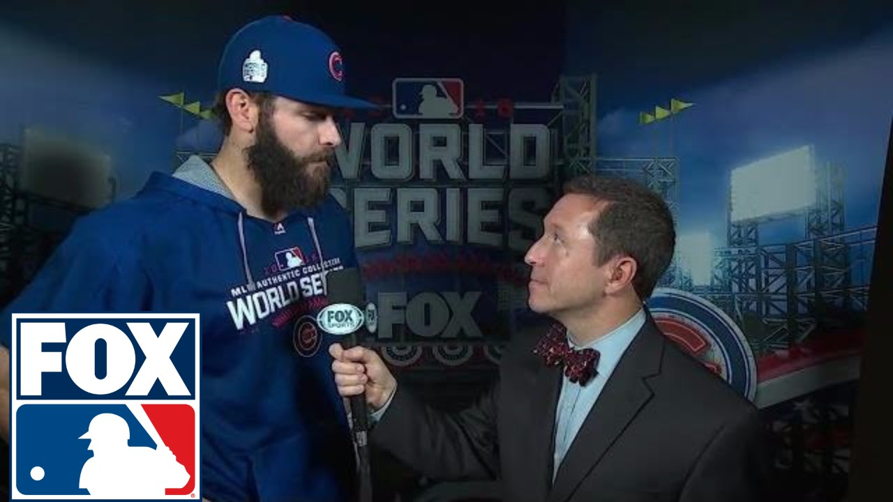 Jake Arrieta speaks on the Chicago Cubs forcing a Game 7