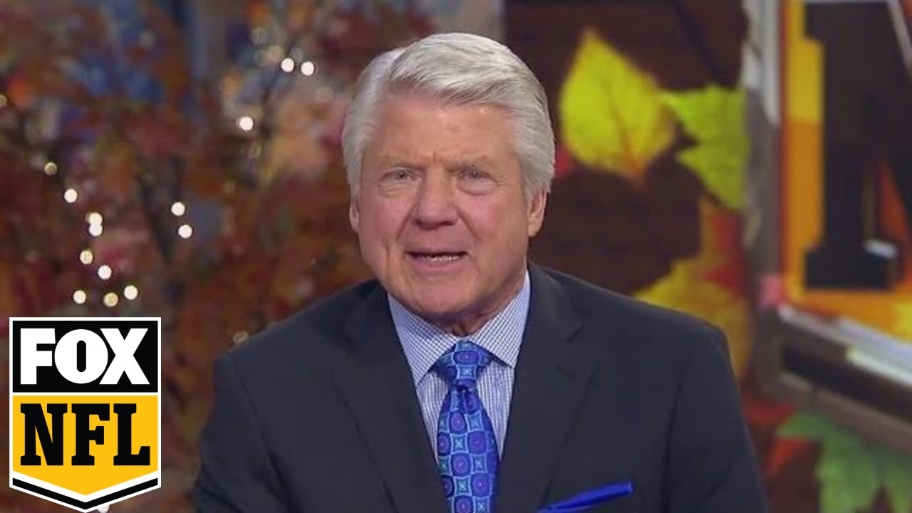 Jimmy Johnson reacts to Dallas Cowboys Thanksgiving win over Washington