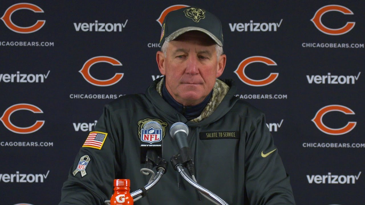 John Fox speaks on the Chicago Bears tough loss to the Tennessee Titans
